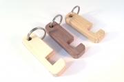 18-002 sleutelhanger telefoonhouder 3 materialen