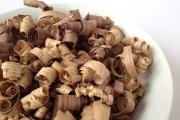 Urn optie houtkrullen