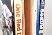 18-027 Boek-box met boeken leeg